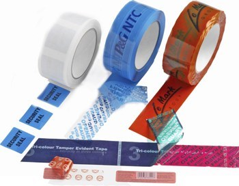 Custom Printed Security Tapes & Labels